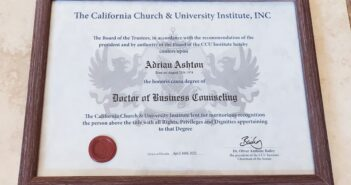 ISBE member gains honorarydoctoratefor business support